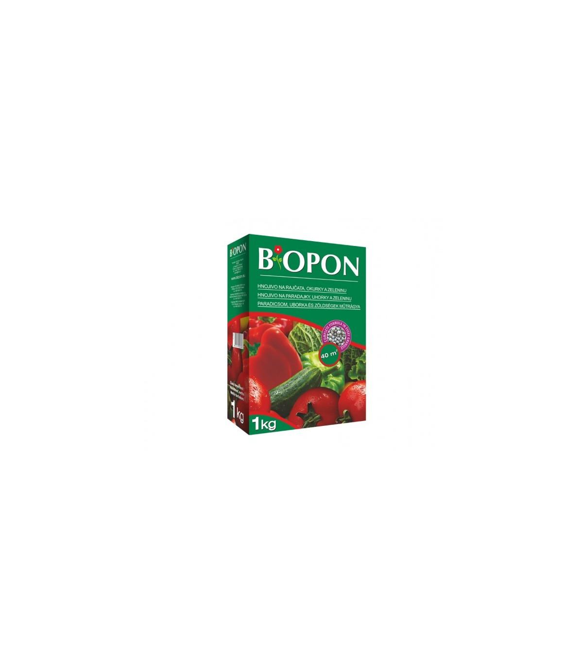 BIOPON - hnojivo pre paradajky a uhorky - 1 kg