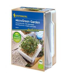 Microgreens Garden BIO - Štartovacia Sada Vrátane 4 Plátov