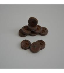 Sadbovacie tablety - Jiffy - rašelinové zakoreňovače - veľ. 24 mm