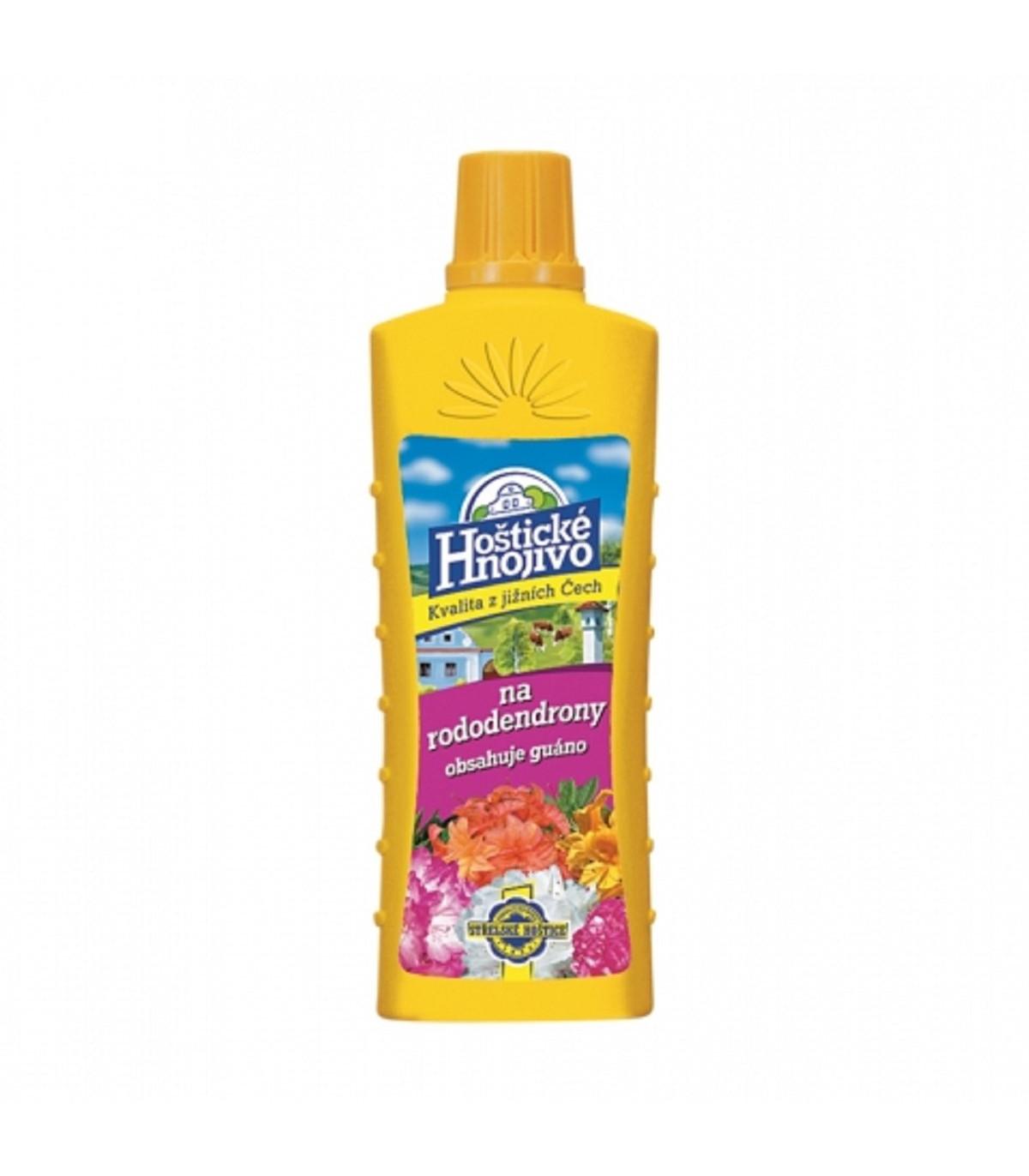 Hoštické hnojivo na rododendróny a azalky s guánom – tekuté hnojivo - 500 ml